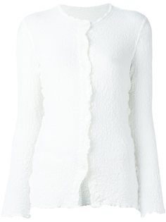 рубашка с мятым эффектом Issey Miyake Cauliflower