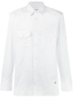 классическая рубашка с карманами спереди Vivienne Westwood Man