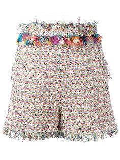 шорты с вышивкой MSGM