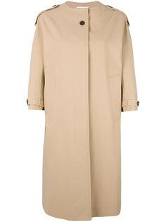 пальто с рукавами три четверти Jil Sander