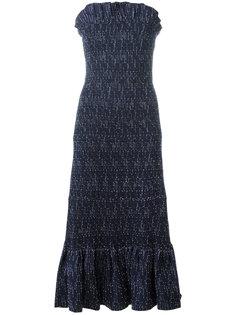 платье без бретелек  Victoria Victoria Beckham