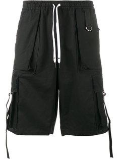 шорты с накладными карманами Liam Hodges
