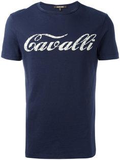 футболка с принтом Roberto Cavalli