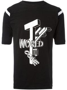 футболка The world KTZ