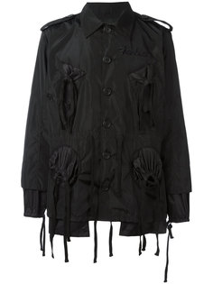 куртка с вышитым логотипом KTZ