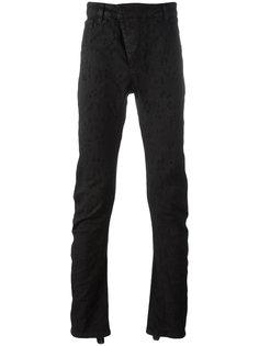 джинсы с рваными деталями 11 By Boris Bidjan Saberi
