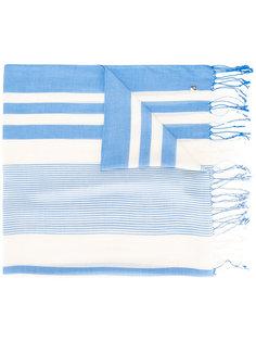 тканый полосатый шарф Twin-Set