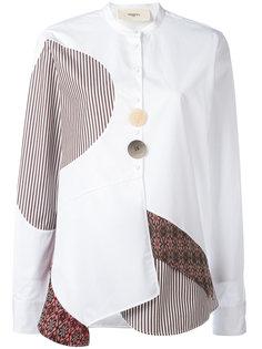 рубашка с контрастными панелями Ports 1961