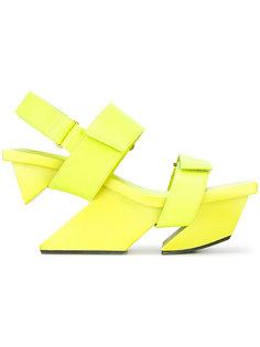 сандалии на платформе  Issey Miyake