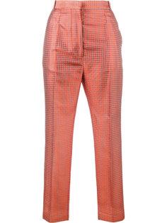 укороченные жаккардовые брюки Haider Ackermann