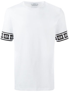 футболка с графическим узором Versace Collection