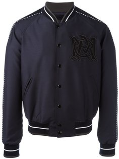 куртка-бомбер с эмблемой Alexander McQueen