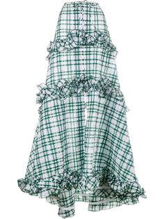 длинная юбка в клетку Rosie Assoulin