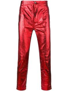 брюки скинни с панельным дизайном Haider Ackermann