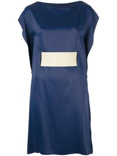 платье с поясом Mm6 Maison Margiela