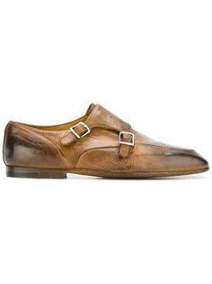 туфли-монки с эффектом горения Premiata