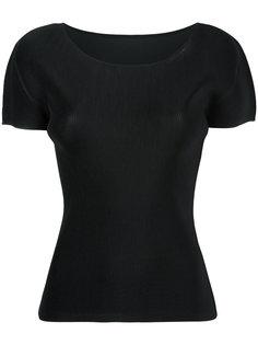 плиссированная футболка Pleats Please By Issey Miyake