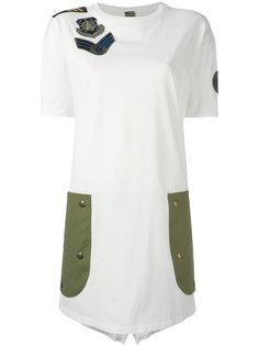 футболка с заплатками  Mr & Mrs Italy