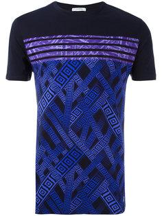 футболка с графическим принтом Versace Collection