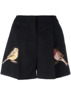 шорты с вышивкой Stella McCartney