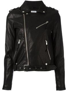байкерская куртка на молнии Twin-Set