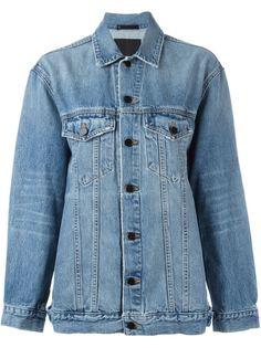 джинсовая куртка свободного кроя Alexander Wang