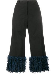 укороченные брюки с рюшами Rosie Assoulin