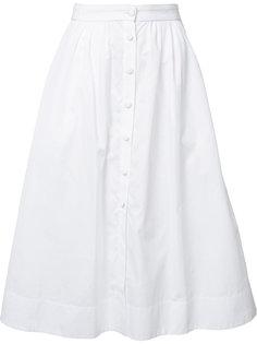 button up skirt Piamita