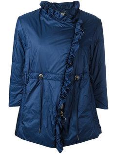дутая куртка с рюшами Twin-Set