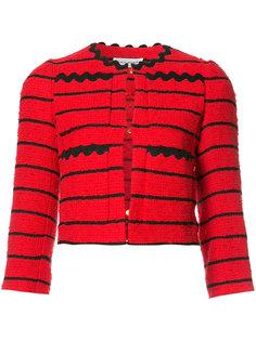 striped cropped jacket Sonia Rykiel