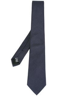 галстук с узором в горох Armani Collezioni