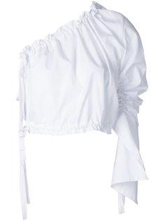 Crescent one shoulder shirt Georgia Alice