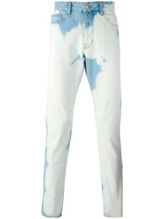 джинсы с пигментным эффектом  Ami Alexandre Mattiussi