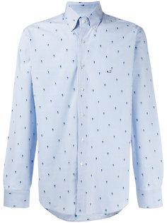 рубашка с мелким принтом Etro