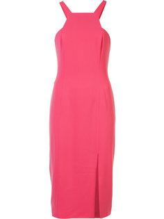 halter-neck fitted dress  Jay Godfrey