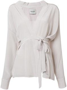 wrap blouse  Rachel Comey