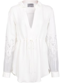 блузка с прозрачными рукавами Maiyet