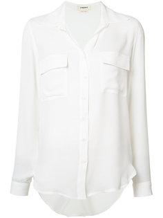 silk pocket shirt  Lagence