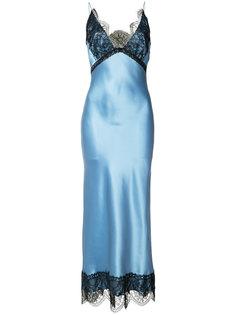 платье с кружевными вставками Natasha Zinko