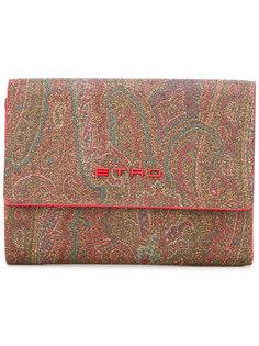 кошелек с абстрактным принтом Etro