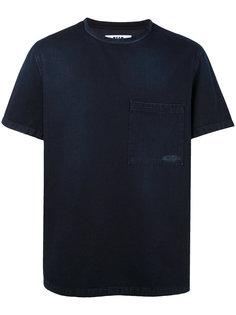 футболка с джинсовым эффектом MSGM