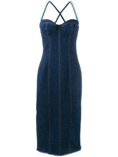 платье с искусственными жемчужинами Natasha Zinko