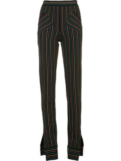 брюки в полоску J.W.Anderson