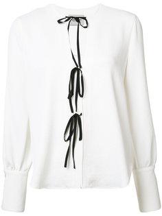 блузка со шнуровкой Rachel Comey