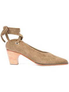 туфли с завязками на щиколотке Rachel Comey