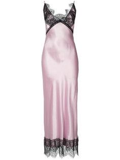 платье с кружевной отделкой Natasha Zinko