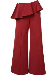 брюки-палаццо с баской Rosie Assoulin