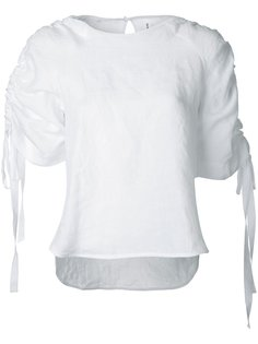 Rouche blouse Georgia Alice