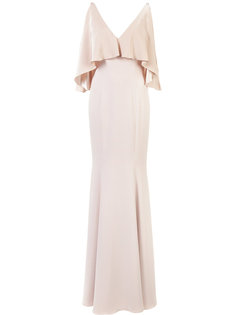 long open-shoulder dress  Jay Godfrey
