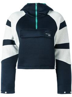 толстовка с контрастными панелями Adidas Originals